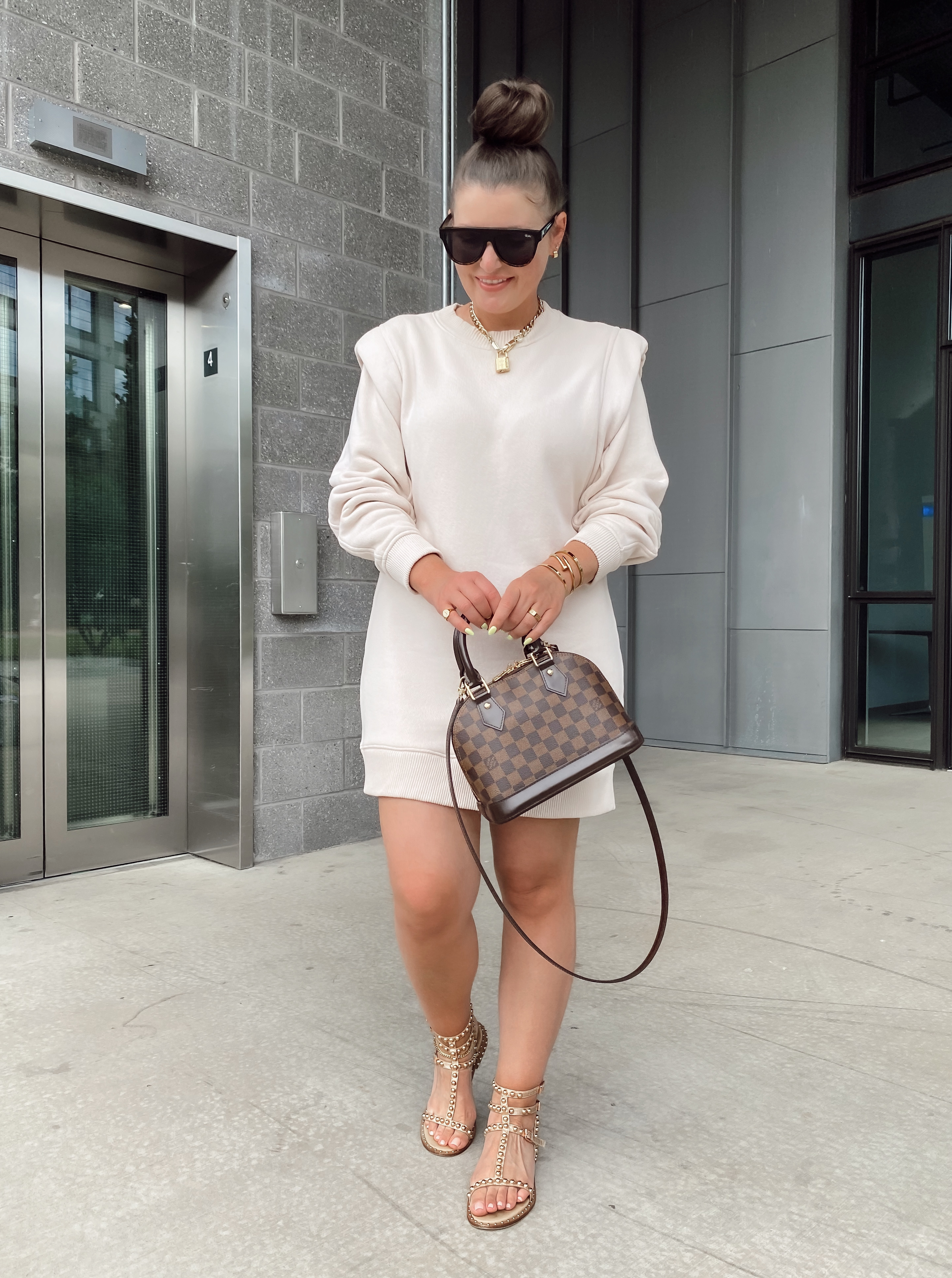 5 Ways To Style Louis Vuitton Alma Bb For Summer The Rule Of 5